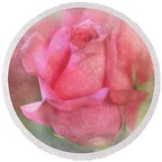 For The Love Of Pink Round Beach Towel
