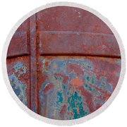For The Love Of Rust II Round Beach Towel