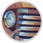 Ford And Wren Round Beach Towel