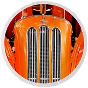 Ford Anglia Classic Round Beach Towel