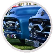 Ford F-100s Round Beach Towel