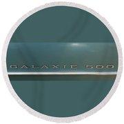 Ford Galaxie 500 Round Beach Towel