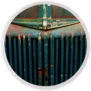 Ford Grille Round Beach Towel
