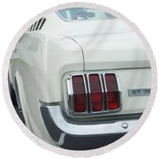 Ford Mustang Gt 350 Round Beach Towel