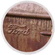 Ford Name Plate Round Beach Towel