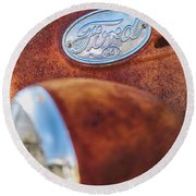Ford Panel Round Beach Towel