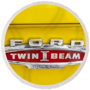 Ford Tough 1966 Truck Round Beach Towel