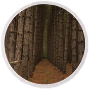 Forest Soldiers... Round Beach Towel