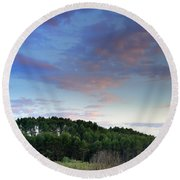 Forests Round Beach Towel