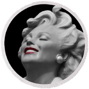 Forever Marilyn Round Beach Towel