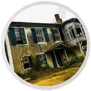 Forgotten House IIi Round Beach Towel