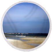 Forida Beach Round Beach Towel