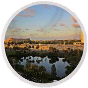 Fort Lauderdale View Round Beach Towel