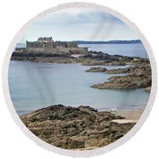 Fort National Round Beach Towel