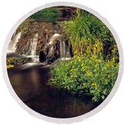 Fossil Creek Round Beach Towel