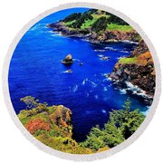 Foulweather Round Beach Towel