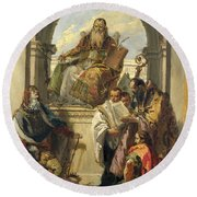 Four Saints Round Beach Towel