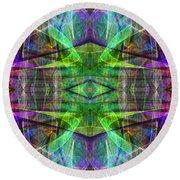 Fourth Dimension Ap130511-22 Round Beach Towel
