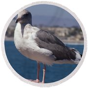 Waterfowl Model Round Beach Towel