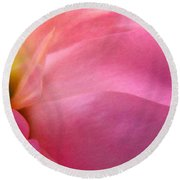 Fragment - Digital Painting Effect Round Beach Towel