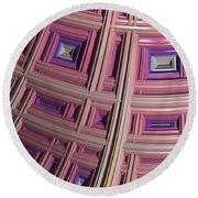 Frames Round Beach Towel by Bill Owen