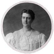 Frances Folsom Cleveland (1864-1947) Round Beach Towel