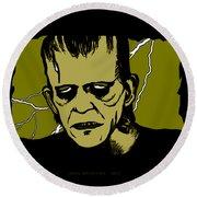 Frankenstein 31' Round Beach Towel