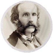 Frederick Edwin Church (1826-1900) Round Beach Towel