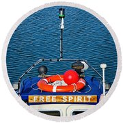Free Spirit 2 Round Beach Towel