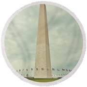 Freedom Round Beach Towel
