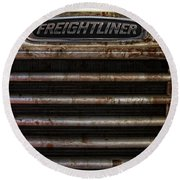Freightliner Highway King Round Beach Towel