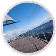 Fremantle Maritime Museum 10 Round Beach Towel