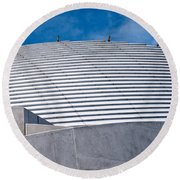 Fremantle Maritime Museum Roof 02 Round Beach Towel