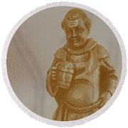 Friar 1 Round Beach Towel