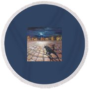 From Life Of Cats Round Beach Towel
