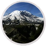 From Mount Fremont Lookout Round Beach Towel