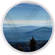 From The Rim Round Beach Towel