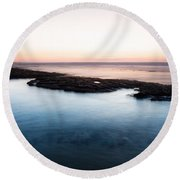 Frontier Hot Cold Round Beach Towel