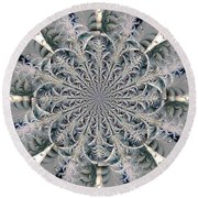 Frost Seal Round Beach Towel