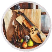 Fruit Of The Wood Round Beach Towel