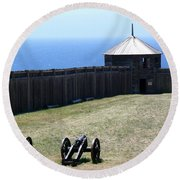 Ft. Ross State Historic Park Round Beach Towel