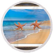Fun For A Day Round Beach Towel