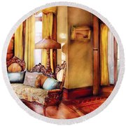 Furniture - Chair - The Queens Parlor Round Beach Towel