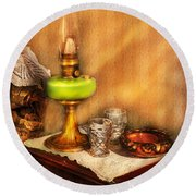 Furniture - Lamp - The Gas Lamp Round Beach Towel
