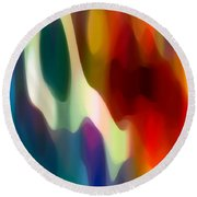 Fury 2 Round Beach Towel by Amy Vangsgard