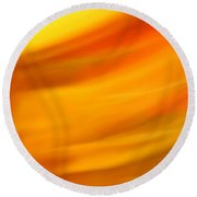 Fury In Color Round Beach Towel