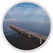 Fv2549, Mattthew Plexman Long Dock Out Round Beach Towel