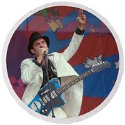 G Love And Special Sauce Round Beach Towel