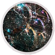 Starry Starry Night Round Beach Towel