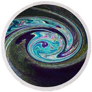 Galaxy Birth 1 Conception Round Beach Towel